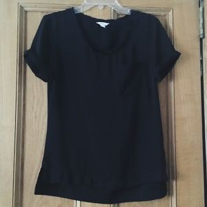 Calvin Klein Black Pocket Tee